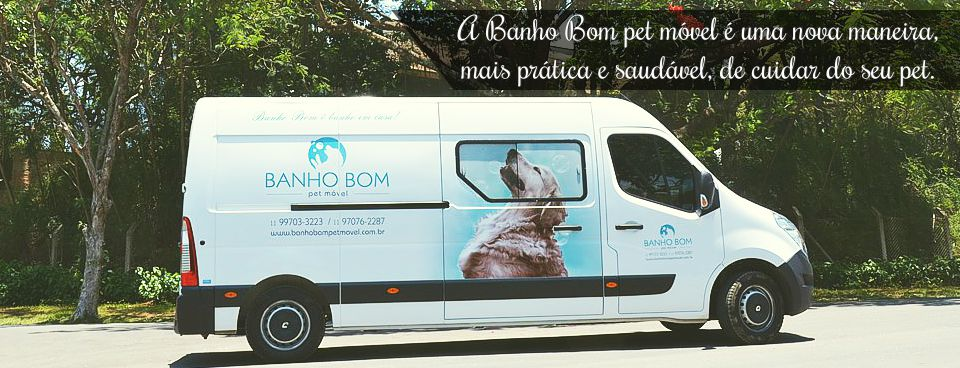 Banho Bom Pet Móvel